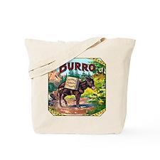 Burro Cigar Label Tote Bag