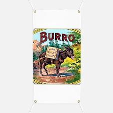 Burro Cigar Label Banner