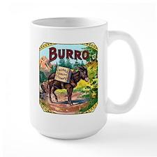 Burro Cigar Label Mug