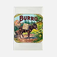 Burro Cigar Label Rectangle Magnet