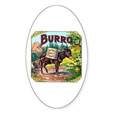 Burro Cigar Label Decal