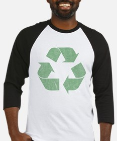 Vintage Recycle Logo Baseball Jersey