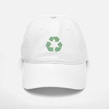 Vintage Recycle Logo Baseball Baseball Cap