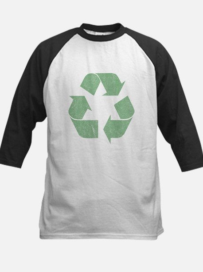 Vintage Recycle Logo Kids Baseball Jersey