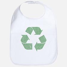 Vintage Recycle Logo Bib