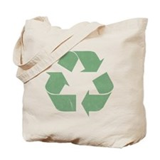 Vintage Recycle Logo Tote Bag