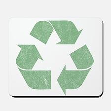Vintage Recycle Logo Mousepad