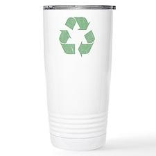 Vintage Recycle Logo Travel Coffee Mug