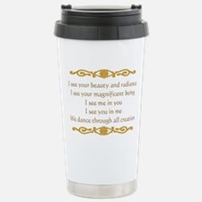 I See You Stainless Steel Travel Mug