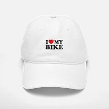 I love my bike Baseball Baseball Cap