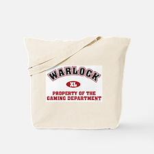 Warlock Gaming Dept Tote Bag