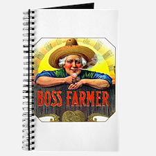 Boss Farmer Cigar Label Journal