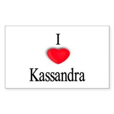 Kassandra Rectangle Decal