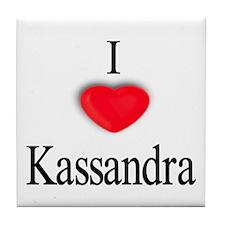 Kassandra Tile Coaster