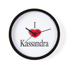 Kassandra Wall Clock