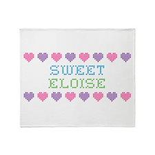 Sweet ELOISE Throw Blanket