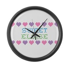 Sweet ELOISE Large Wall Clock