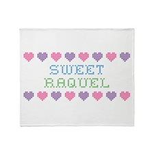 Sweet RAQUEL Throw Blanket