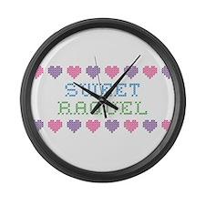Sweet RAQUEL Large Wall Clock