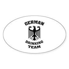 German Drinking Team Decal