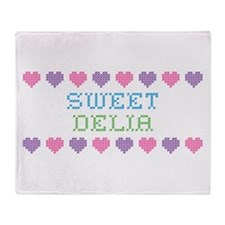 Sweet DELIA Throw Blanket