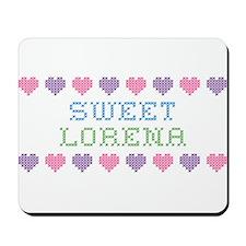 Sweet LORENA Mousepad