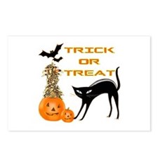 Trick or Treat II Postcards (Package of 8)
