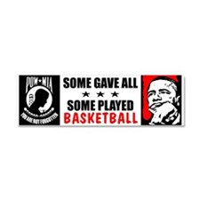 """Some Gave All"" Car Magnet 10 x 3"