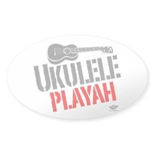 Ukulele Playah Decal
