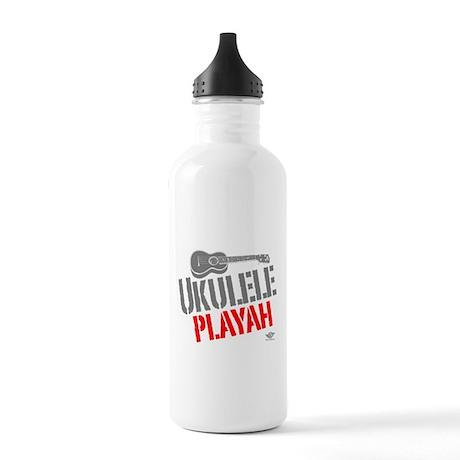 Ukulele Playah Stainless Water Bottle 1.0L