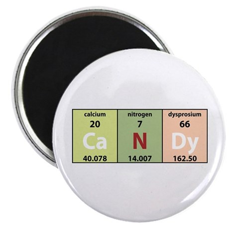 Chemical Candy Magnet