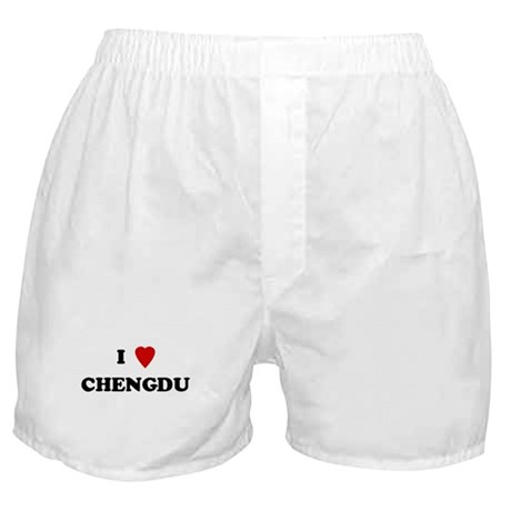I Love Chengdu Boxer Shorts