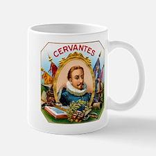 Cervantes Cigar Label Mug
