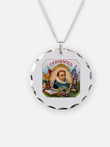 Cervantes Cigar Label Necklace