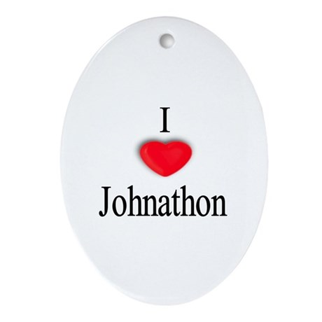 Johnathon Oval Ornament