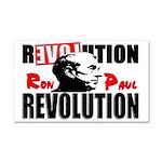 """""""Ron Paul Revolution"""" Car Magnet 20 x 12"""
