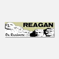 """""""Reagan On Rushmore"""" Car Magnet 10 x 3"""