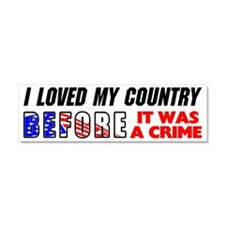 """Before It Was A Crime"" Car Magnet"