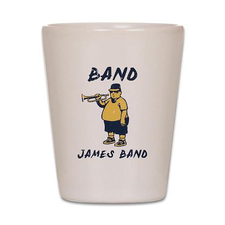 Band, James Shot Glass