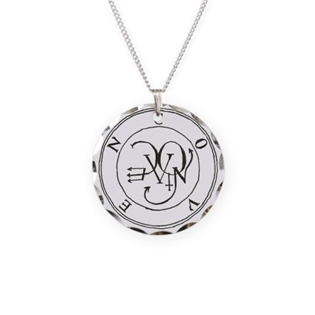 Coven Seal/Sigil Necklace Circle Charm