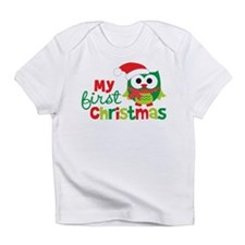 My First Christmas Owl Infant T-Shirt