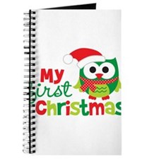 My First Christmas Owl Journal