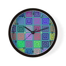 Big Squares Wall Clock