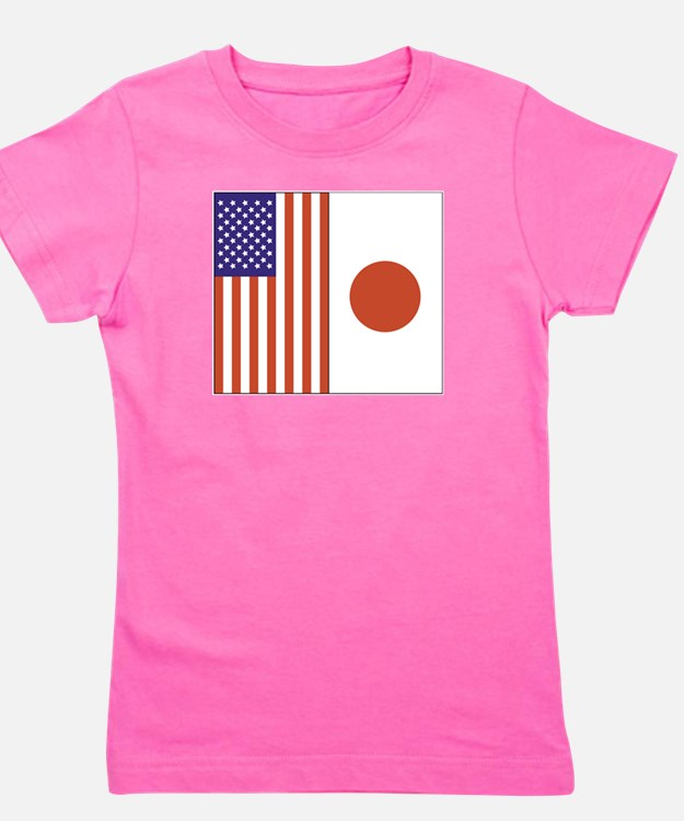 US and Japan Kids T-Shirt
