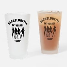 Custom Bachelorette Entourage (Add Name) Drinking