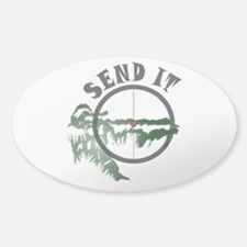 Send It Scope Sticker (Oval)