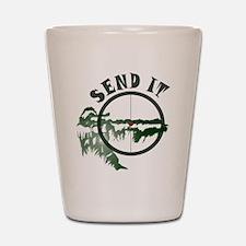 Send It Scope Shot Glass