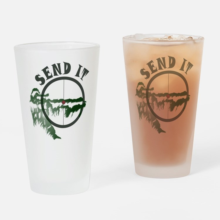 Send It Scope Drinking Glass