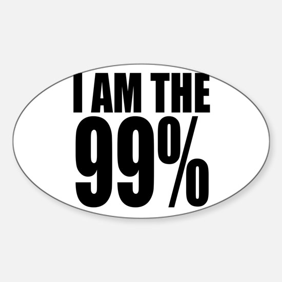 Occupy Wall Street Sticker (Oval)