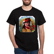 American Queen Cigar Label T-Shirt